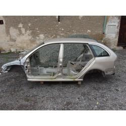 Havarovaný skelet karoserie Škoda Fabia I combi