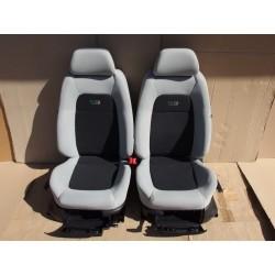 Sada sedaček Škoda Fabia I RS s airbagy a výhřevem