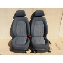 Sedačky Škoda Fabia I s airbagy a výhřevem