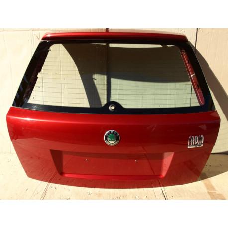5-té dveře (páté dveře, 5. dveře) - víko kufru Škoda Fabia I hatchback