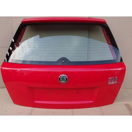 5-té (Páté, 5., Víko kufru) dveře Škoda Fabia I  hatchback