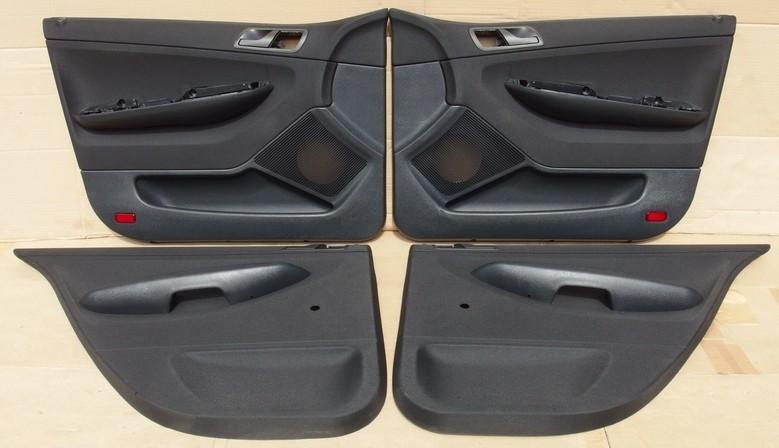 Čalounění (tapecírunky) dveří Škoda Fabia I hatchback
